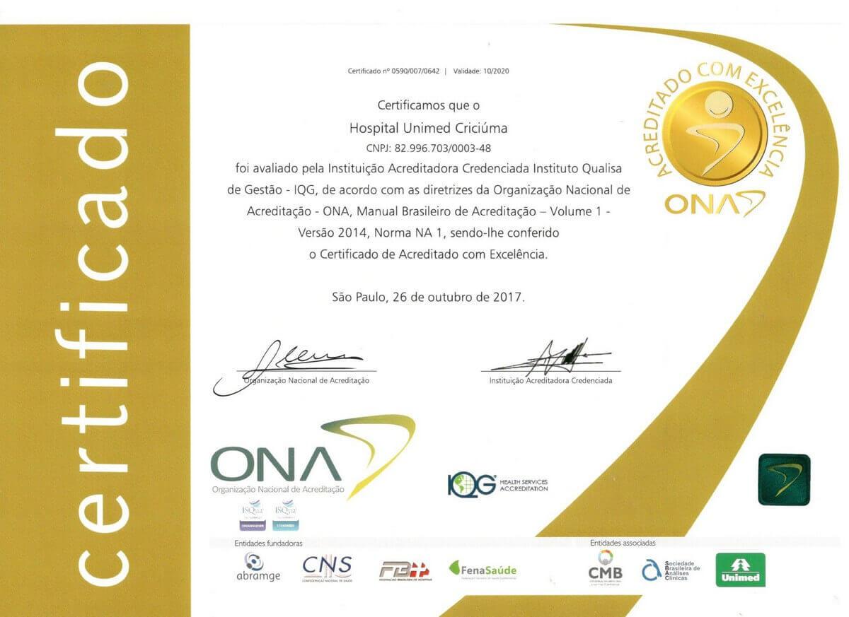 imagem certificado