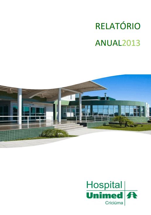 imagem relatório do ano de 2013